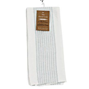 The Good Cook 3-Pack Set of Kitchen Towels Cotton